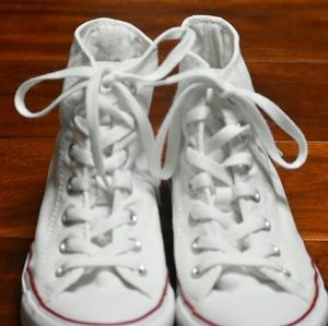 Converse sneakers white high top